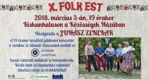 Folk esték 2018-ban