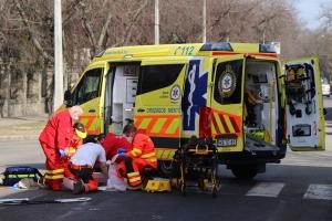 Súlyosan megsérült a Halas belvárosában elgázolt gyalogos (galéria)