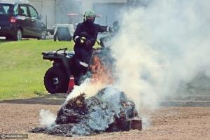 Gyakorlaton próbálta ki az új terepjáróit a Tüzes Kunok Mentőcsapat (galéria)