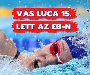 Vas Luca 15. helyen végzett az Európa-bajnokságon