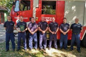 Tűzoltóink voltak a legszakszerűbbek az országos versenyen