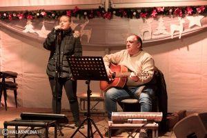 Lélekmelegítő zene az Adventi Téren (galériával)