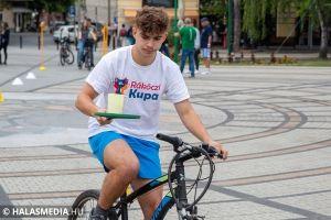 Kerékpáros- és környezetvédelmi verseny is volt az Európai Autómentes Napon (galéria)