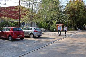 Elkészült a könyvtári parkoló