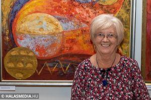 Szín-folt - megnyílt Petruskáné Markó Ibolya kiállítása (Galéria)