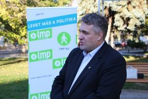 Megújuló Magyarországért kampányol az LMP