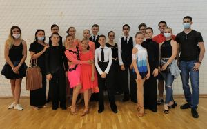 Jól táncoltak a stúdiós fiatalok