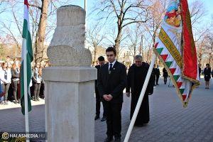 (►) Ünnepség a Rákóczi-szobornál