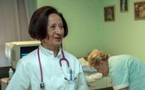 Életműdíjas doktornő