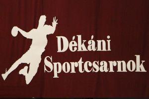 Tovább szépül a Dékáni Sportcsarnok