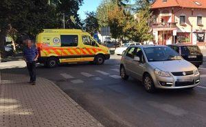 Kerékpáros-baleset a belvárosban