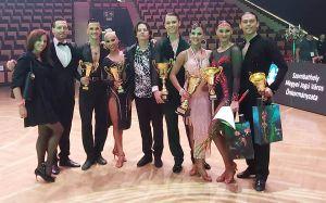 Táncos sikerek a magyar bajnokságon