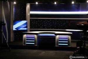 (►) Így készült a Halas TV új híradódíszlete