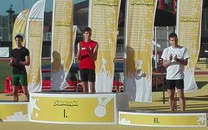 Jerémiás Donát, diákolimpiai bronz