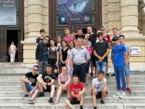 Váris diákok szakmai gyakorlata Bécsben