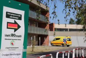 Már 35 beteget ápolnak a halasi járványkórházban