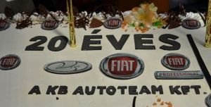 20 éves a KB Autoteam Kft.