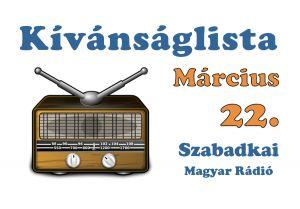 Dallista március 22.
