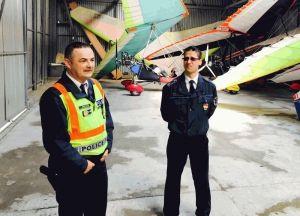 Repülőtereket ellenőriztek a rendőrök
