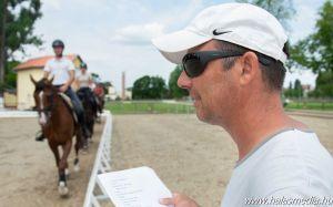Európa-kupára készülő lovastusázók
