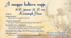 A magyar kultúra napja Halason