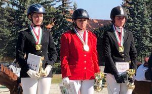 Bajnok az amatőr lovastusa csapatunk