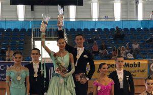 Táncos érmek, helyezések Szegeden