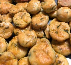 Laktóz- és gluténmentes hajtogatott pogácsa