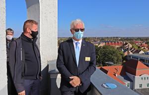 Halasra látogatott a Rotary Magyarország kormányzója