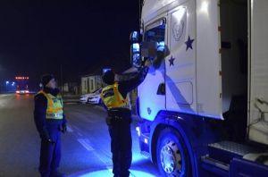 Sofőröket ellenőriztek a rendőrök