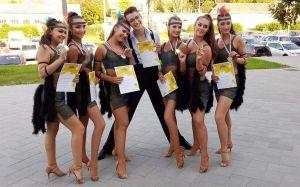 Táncos diákolimpiai bajnokok