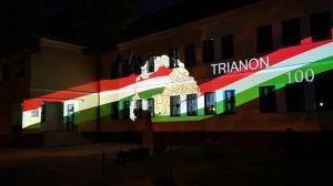 Fényfestéssel emlékeznek Trianonra