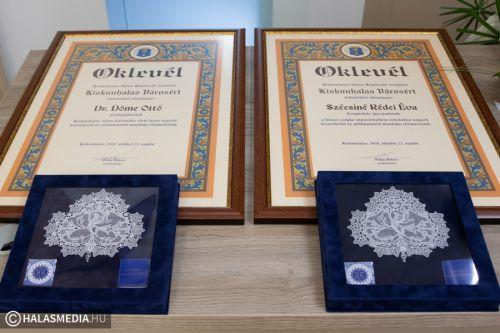 Átadták a Pro Urbe díjakat
