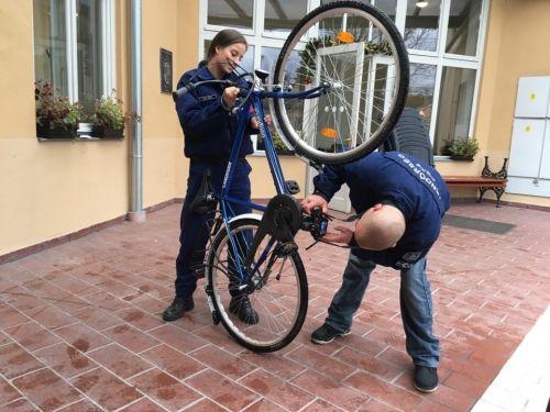 Regisztrálták a kerékpárokat