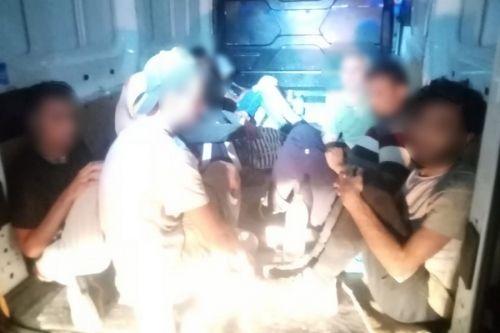 Embercsempészt, illegális migránsokat fogtak