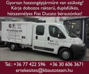 KBAutoteam - Haszongépjármű bérlés