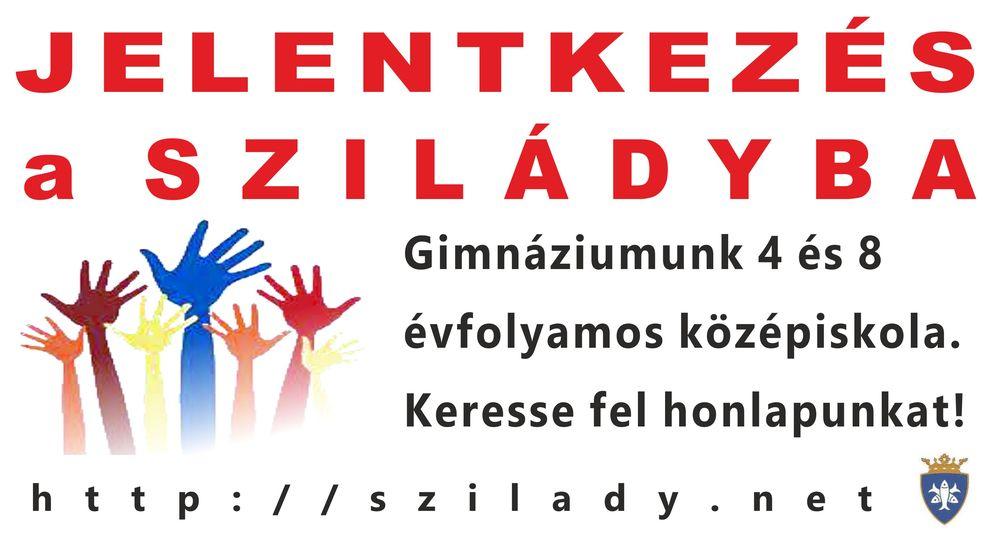 2018 Szilády felvételi